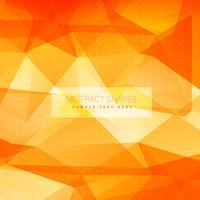 Fondo de triángulo naranja