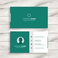 minimal business card  template vector design illustration