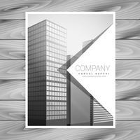 conception de modèle de brochure d'entreprise simple