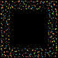 fond de confettis avec un espace pour votre texte