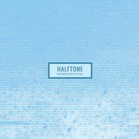 halftone texture in sky blue color