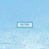 halvtonstextur i himmelsblå färg