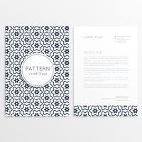 pattern corporate brochure template