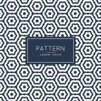 abstract zeshoekig lijnpatroon achtergrondontwerp