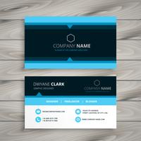 coporate business card design template vector design illustratio