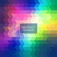 fundo poligonal colorido brilhante
