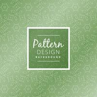 green abstract shapes pattern  vector design illustration