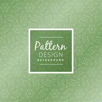 green abstract shapes pattern  vector design illustration