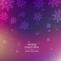 fond coloré de saison de Noël