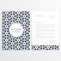 diseño de plantilla de folleto de negocios