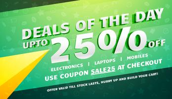 creative deals, discount, coupons and sale voucher design templa
