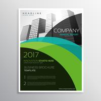Broschüre Broschürenvorlage für den Jahresbericht