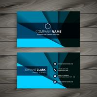 corporate business card  template vector design illustration