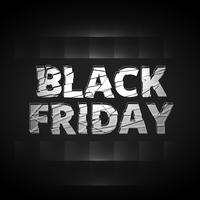 black friday shatter text style design