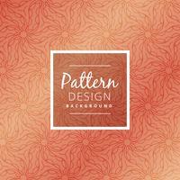 creatieve organische patroon achtergrond vectorontwerpillustratie