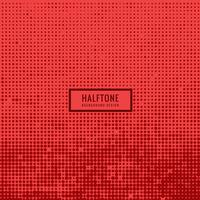 red halftone background
