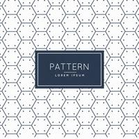 saubere sechseckigen Form Muster Hintergrund