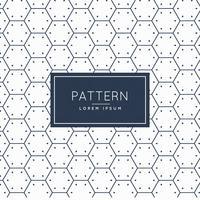 Fondo limpio patrón de forma hexagonal