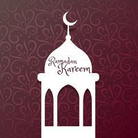 Ramadan Kareem festival saudação