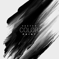zwarte kleur verf vlek achtergrondontwerp