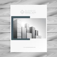 bedrijf tijdschrift cover presentatiesjabloon