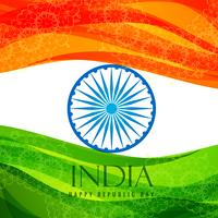 indian flag poster template vector design illustration