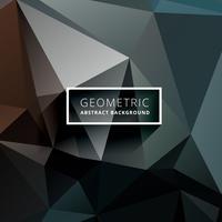fond polygonale géométrique sombre