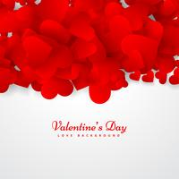 valentines day greeting card vector design illustration