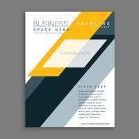 plantilla de folleto de empresa de negocios