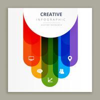 conception créative infographie icônes
