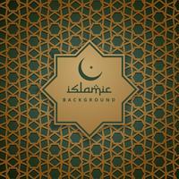 sfondo del modello islamico