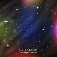 fundo de espaço com luzes coloridas