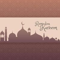 Ramadan Festival Gruß Hintergrund