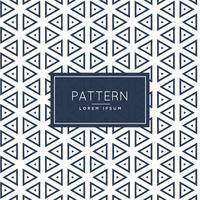 Fondo de diseño de patrón de formas de contorno de triángulos