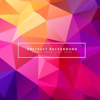 beautiful colorful polygonal background