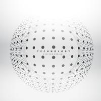 circles dots sphere design vector design illustration
