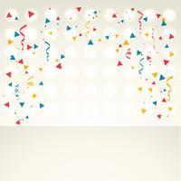 fundo colorido de confetes