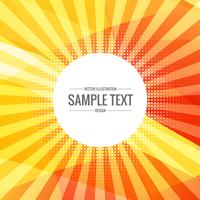 bright yellow abstract background with rays