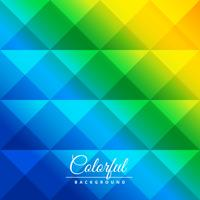 colorful diamond shapes pattern poster vector design illustratio