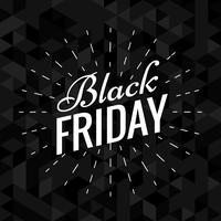 design élégant fond noir vendredi noir