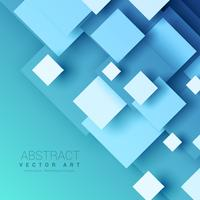 blue background with geometric square shapes