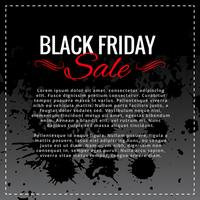 design fond vente vendredi noir avec un espace pour votre texte