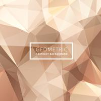 geometric abstract golden background