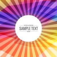 abstracte kleurrijke achtergrond met transparante stralen