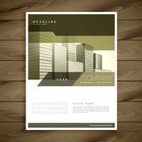 design elegante brochura para o seu negócio