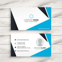abstract modern business card vector design illustration