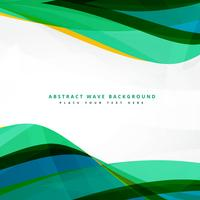 clean wavy template background design