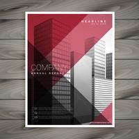 apresentação de modelo de panfleto de negócios promocionais