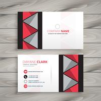 creative identity card template vector design illustration