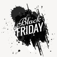grunge black friday design illustration